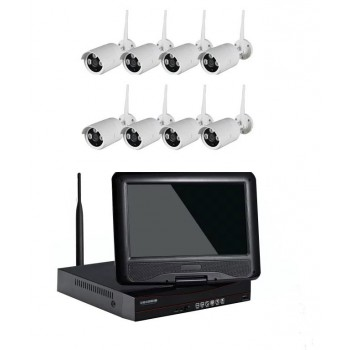 "WiFi advanced 8 Channel 10""LCD Kits"