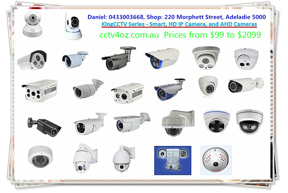 kingcctv camera series - smart cameras, hd ip cameras, ptz cameras, and ahd cameras