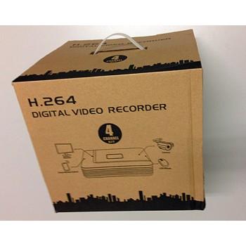 4 Channel Kits 720P NVR 15V POE